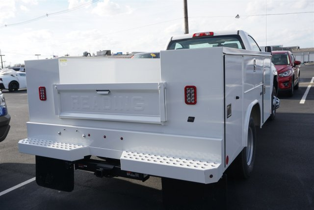 2018 Silverado 3500 Regular Cab DRW 4x2,  Reading SL Service Body #18-0634 - photo 2