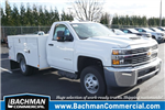 2018 Silverado 3500 Regular Cab DRW 4x2,  Reading SL Service Body #18-0634 - photo 1