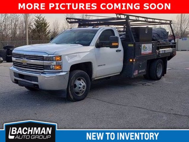 2015 Chevrolet Silverado 3500 Regular Cab DRW 4x4, Contractor Body #20-7784A - photo 1