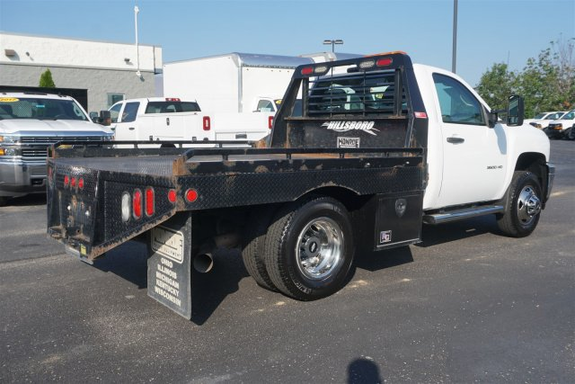2012 Silverado 3500 Regular Cab 4x4,  Platform Body #18-0969A - photo 2
