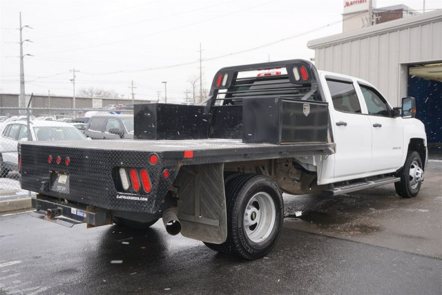 2015 Silverado 3500 Crew Cab DRW 4x4,  Platform Body #18-1201A - photo 2
