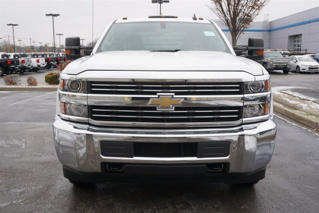 2015 Silverado 3500 Crew Cab DRW 4x4,  Platform Body #18-1201A - photo 3