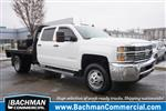 2015 Silverado 3500 Crew Cab DRW 4x4,  Platform Body #18-1201A - photo 1