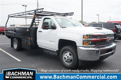 2018 Silverado 3500 Regular Cab DRW 4x4,  Freedom ProContractor Body #18-1215 - photo 1