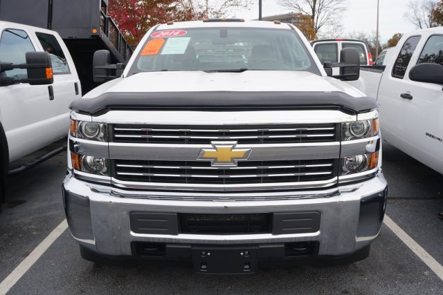 2016 Silverado 3500 Crew Cab DRW 4x4,  Platform Body #18-1437A - photo 6