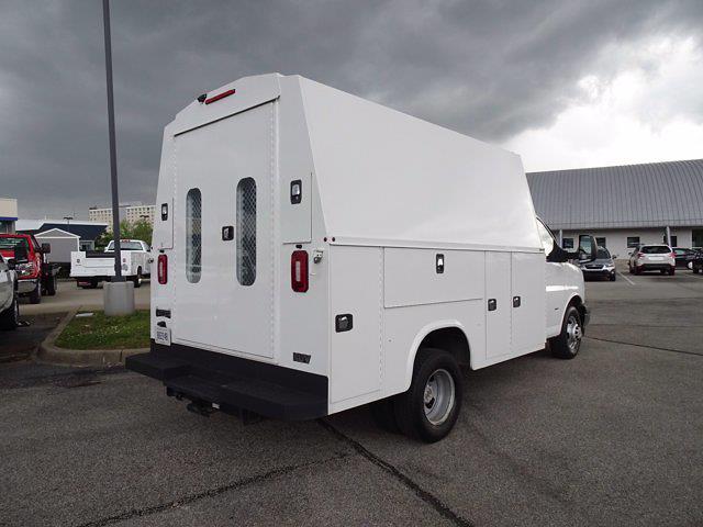 2019 Chevrolet Express 3500 4x2, Knapheide Service Utility Van #21-9986D - photo 1