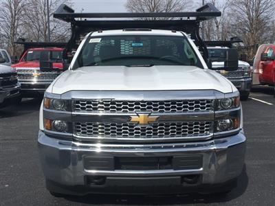 2019 Silverado 3500 Regular Cab DRW 4x4,  Knapheide Contractor Body #19-3695 - photo 3