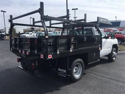 2019 Silverado 3500 Regular Cab DRW 4x4,  Knapheide Contractor Body #19-3695 - photo 2