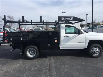 2019 Silverado 3500 Regular Cab DRW 4x4,  Knapheide Contractor Body #19-3695 - photo 8