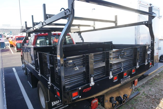 2019 Silverado 3500 Regular Cab DRW 4x2,  Knapheide Contractor Body #19-3728 - photo 6