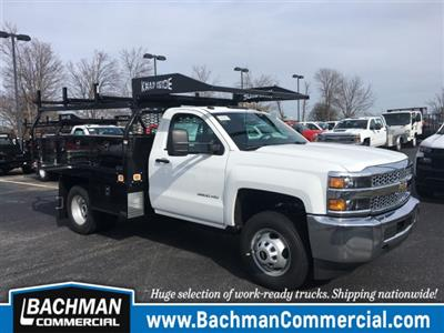 2019 Silverado 3500 Regular Cab DRW 4x4, Knapheide Contractor Body #19-3804 - photo 1