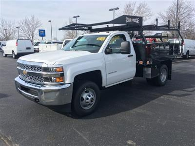 2019 Silverado 3500 Regular Cab DRW 4x4, Knapheide Contractor Body #19-3804 - photo 4