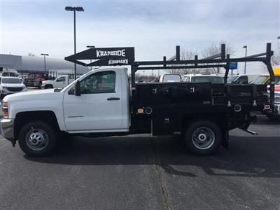 2019 Silverado 3500 Regular Cab DRW 4x4, Knapheide Contractor Body #19-3804 - photo 5