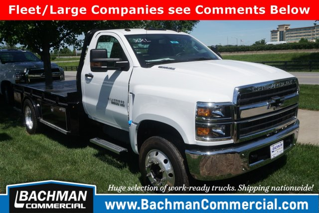 2019 Silverado 5500 Regular Cab DRW 4x2, Wil-Ro Hauler Body #19-3887 - photo 1