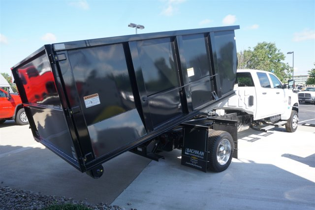 2019 Silverado Medium Duty Crew Cab DRW 4x4,  Switch N Go Drop Box Hooklift Body #19-4025 - photo 2