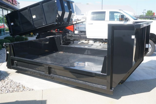 2019 Silverado Medium Duty Crew Cab DRW 4x4,  Switch N Go Drop Box Hooklift Body #19-4025 - photo 9