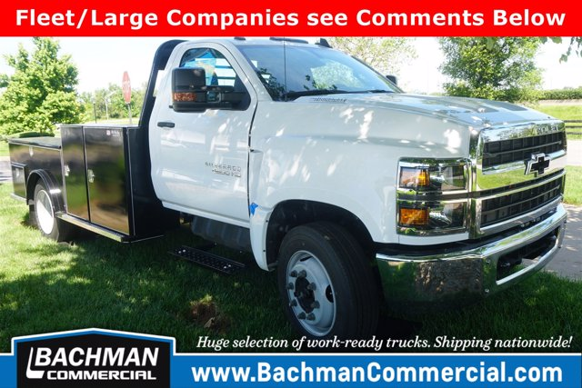 2019 Chevrolet Silverado 4500 Regular Cab DRW RWD, Wil-Ro Hauler Body #19-4052 - photo 1