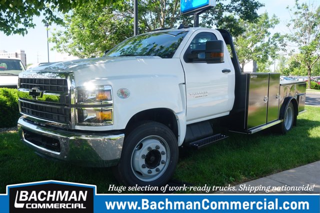 2019 Chevrolet Silverado 4500 Regular Cab DRW RWD, Wil-Ro WRT Hauler Body #19-4052 - photo 4