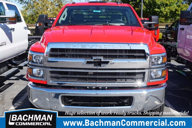 2019 Chevrolet Silverado 4500 Regular Cab DRW 4x2, Hillsboro GII Steel Platform Body #19-4053 - photo 4