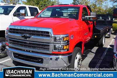 2019 Chevrolet Silverado 4500 Regular Cab DRW 4x2, Hillsboro GII Steel Platform Body #19-4053 - photo 5