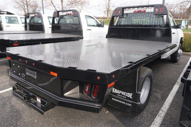 2019 Silverado 3500 Regular Cab DRW 4x4,  Knapheide Platform Body #19-4062 - photo 1