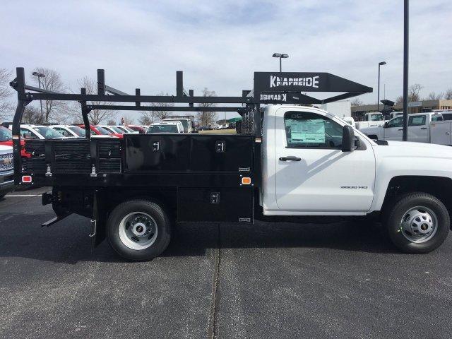 2019 Silverado 3500 Regular Cab DRW 4x2,  Knapheide Contractor Body #19-4198 - photo 8
