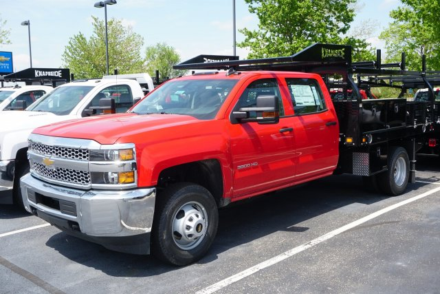 2019 Silverado 3500 Crew Cab DRW 4x4,  Knapheide Contractor Body #19-4218 - photo 4