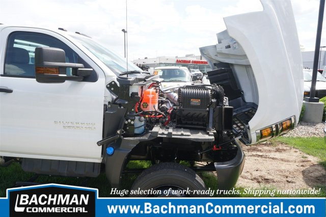 2019 Chevrolet Silverado 5500 Regular Cab DRW 4x4, Freedom Rodeo Platform Body #19-4290 - photo 21