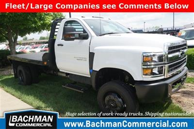 2019 Chevrolet Silverado 5500 Regular Cab DRW 4x4, Freedom Rodeo Platform Body #19-4290 - photo 1