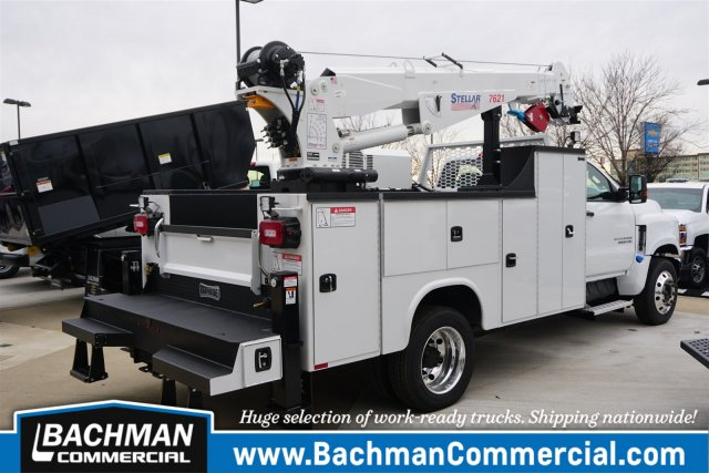 2019 Chevrolet Silverado 6500 Regular Cab DRW RWD, Knapheide KMT Mechanics Body #19-4470 - photo 2