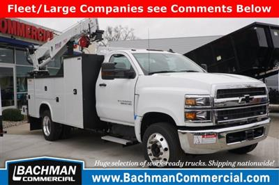 2019 Chevrolet Silverado 6500 Regular Cab DRW RWD, Knapheide KMT Mechanics Body #19-4470 - photo 1