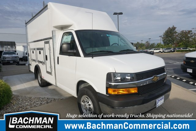2019 Chevrolet Express 3500 4x2, Rockport Service Utility Van #19-4901 - photo 1