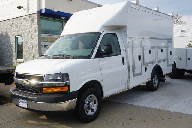 2019 Chevrolet Express 3500 RWD, Rockport Workport Service Utility Van #19-4901 - photo 4