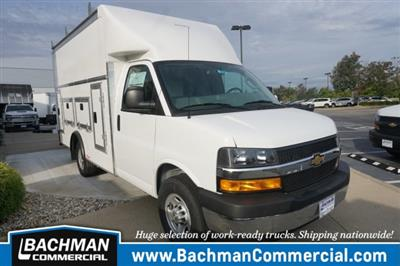 2019 Chevrolet Express 3500 RWD, Rockport Workport Service Utility Van #19-4901 - photo 1