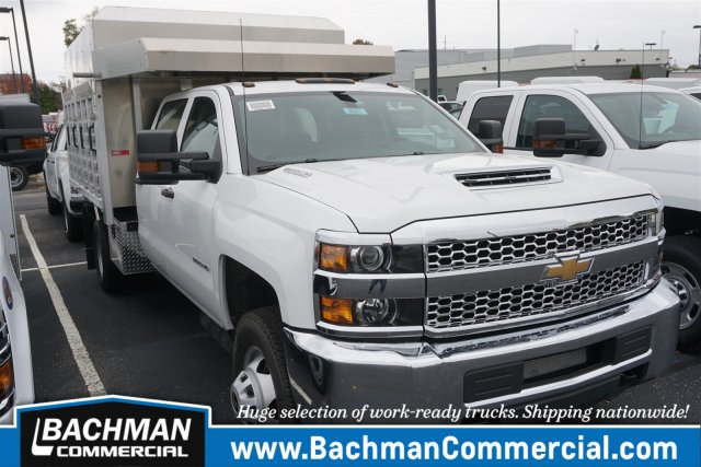 2019 Silverado 3500 Crew Cab DRW 4x4,  M H EBY Chipper Body #19-4921 - photo 1