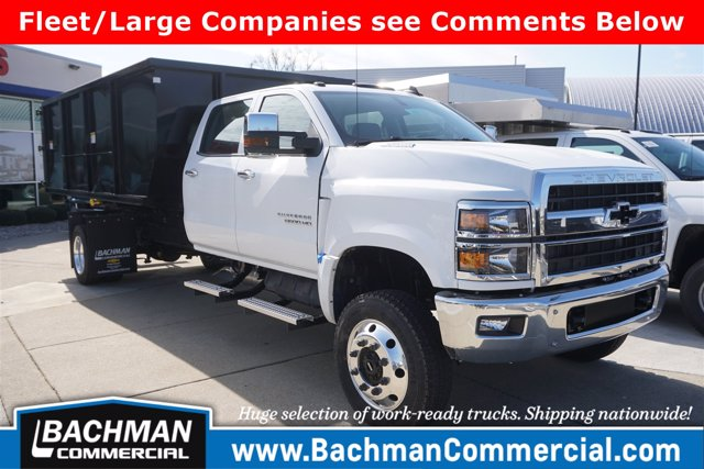 2019 Silverado 6500 Crew Cab DRW 4x4, Switch N Go Drop Box Hooklift Body #19-4939 - photo 1