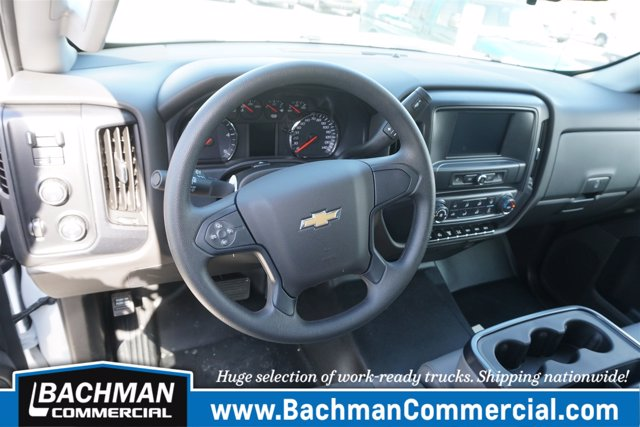 2019 Silverado 6500 Crew Cab DRW 4x4, Switch N Go Drop Box Hooklift Body #19-4939 - photo 20