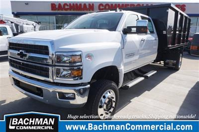 2019 Silverado 6500 Crew Cab DRW 4x4, Switch N Go Drop Box Hooklift Body #19-4939 - photo 7