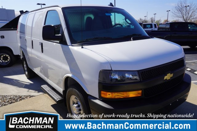2020 Chevrolet Express 2500 RWD, Westcan Manufacturing Upfitted Cargo Van #20-6879 - photo 1