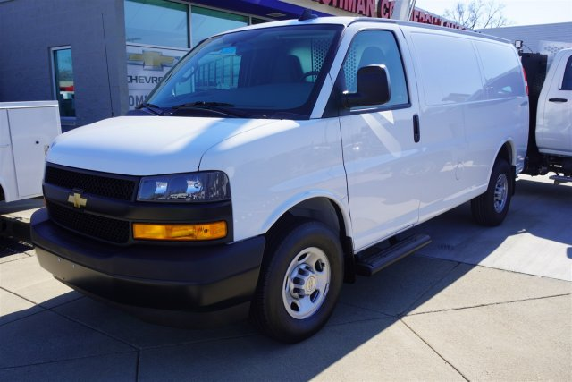 2020 Chevrolet Express 2500 RWD, Westcan Manufacturing Upfitted Cargo Van #20-6879 - photo 4
