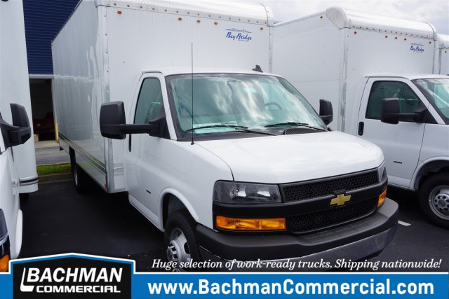 2020 Chevrolet Express 3500 4x2, Bay Bridge Cutaway Van #20-6961 - photo 1