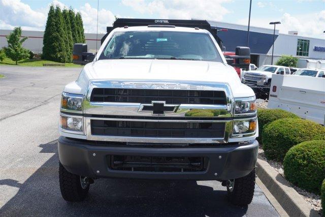 2020 Chevrolet Silverado 5500 Crew Cab DRW 4x4, Crysteel E-Tipper Dump Body #20-7231 - photo 3