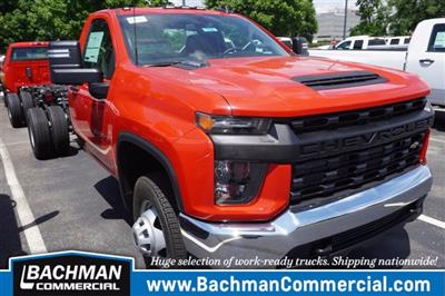 2020 Chevrolet Silverado 3500 Regular Cab DRW 4x4, Cab Chassis #20-7332 - photo 1