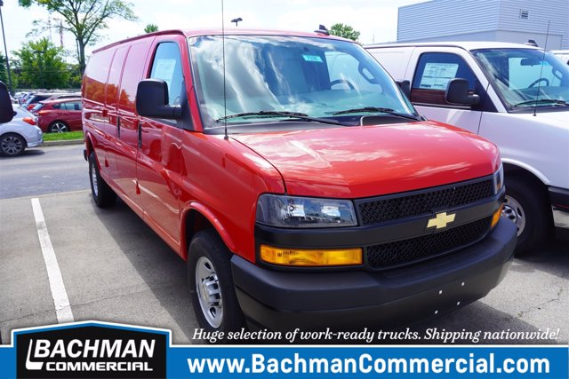 2020 Chevrolet Express 3500 RWD, Empty Cargo Van #20-7335 - photo 1