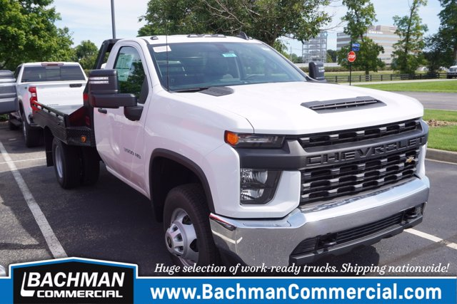 2020 Chevrolet Silverado 3500 Regular Cab DRW RWD, Hillsboro Platform Body #20-7576 - photo 1