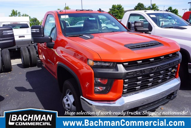 2020 Chevrolet Silverado 3500 Regular Cab DRW 4x4, Cab Chassis #20-7644 - photo 1