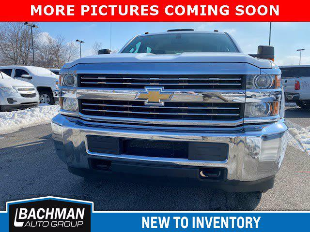 2015 Chevrolet Silverado 3500 Crew Cab DRW 4x4, CM Truck Beds Hauler Body #20-7748A - photo 1