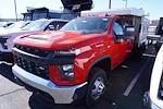 2020 Chevrolet Silverado 3500 Crew Cab DRW 4x4, M H EBY Flex Landscape Dump #20-7772 - photo 7