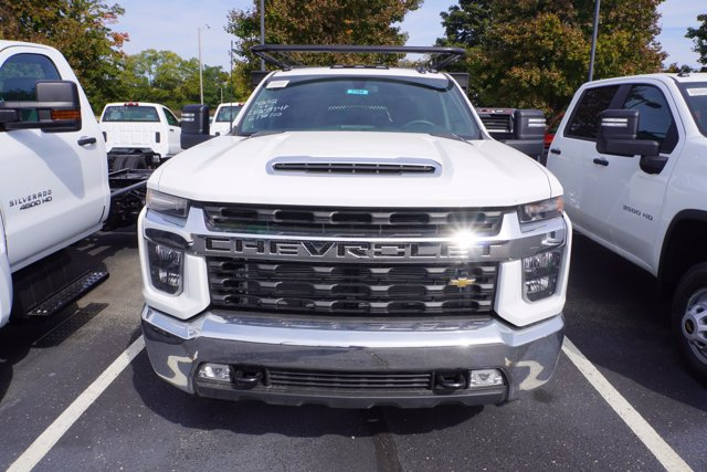 2020 Chevrolet Silverado 3500 Crew Cab DRW 4x4, Palfinger Contractor Body #20-7784 - photo 3