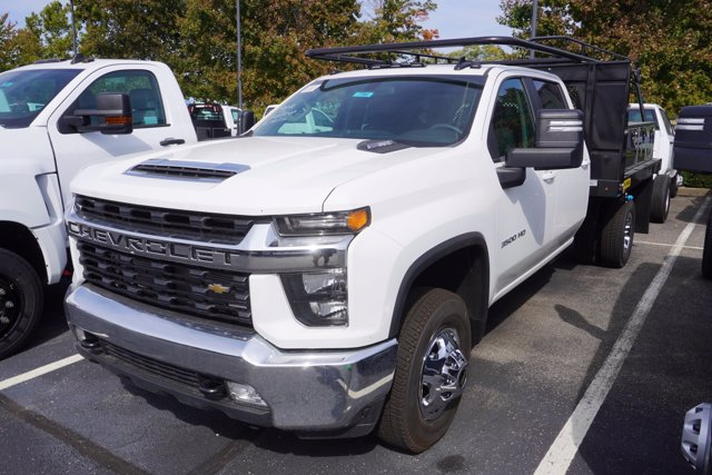 2020 Chevrolet Silverado 3500 Crew Cab DRW 4x4, Palfinger Contractor Body #20-7784 - photo 4